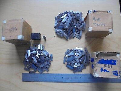 Large Quantity of 16 Point Spacers, 770gms, Letterpress, Adana, Metal Printing