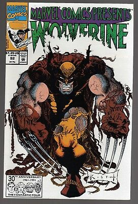 Marvel Comics Presents #92 Wolverine Cable Ghost Rider Northstar  Very Fine+