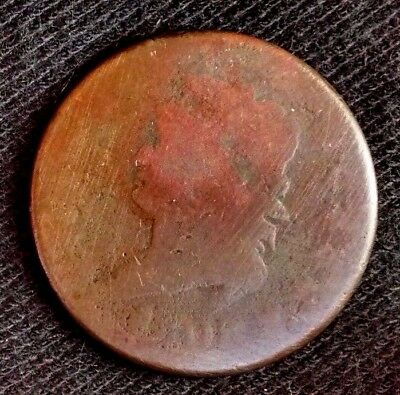 Circulated, RARE 1808 Large Cent Classic Head Variety - Very Worn