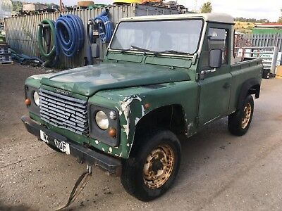 Land Rover Defender 90 300tdi Spares Repair Project Farm Tax Agricultural Tracto