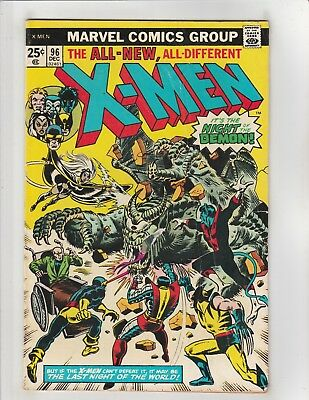 Uncanny X-Men (1963) #96 Marvel Comics Wolverine,Colossus,Nightcrawler,Storm