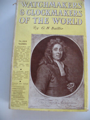 Watchmakers & Clockmakers Of The World - G.h.baillie