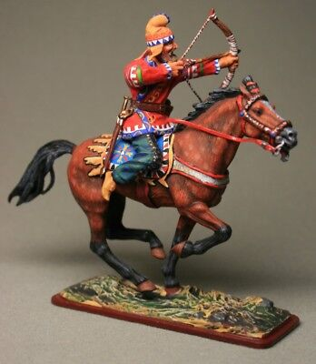 Tin soldier, Collectible, Scythian mounted archer, Cavalryman, Mercenary, 54mm