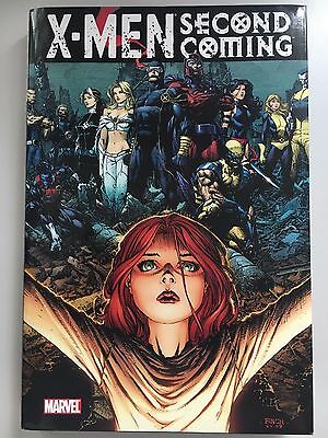 MARVEL: X-MEN — Second Coming Oversized Hardcover HC (VF-NM, OOP)