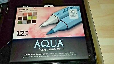spectrum noir aqua essentials 12pcs