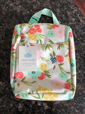 Cloud island floral theme bottle bag! Brand new!! Free shipping!!