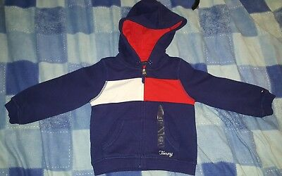 Kids / boys Tommy Hilfiger Zip Up Hoodie 2T/B
