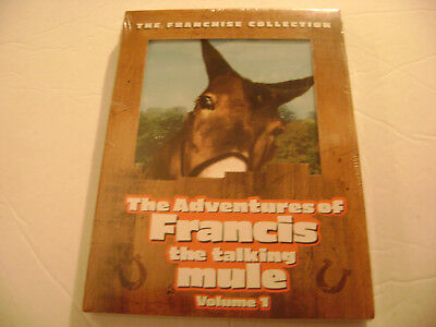 The Adventures of Francis the Talking Mule - Vol. 1 (DVD, 2004) Brand New Sealed