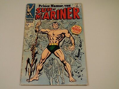 Prince Namor, the Sub-Mariner #1!  First appearance in his own book!