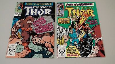 The Mighty Thor #411 and 412!  First and second appearance of the New Warriors!