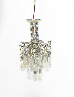 1:48 Scale Crystal Chandelier with 3V LED light - 0001184