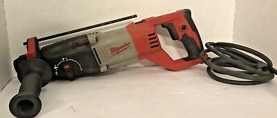 "Milwaukee 5262-20 7/8"" SDS Plus Corded Electric Rotary Hammer Drill"
