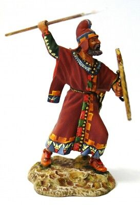 Tin soldier, Collectible, Persian warrior, Phrygian spearman, Mercenary, 54mm