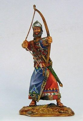 Tin soldier, Collectible, Assyrian Archer, Persian warrior, Mercenary, 54mm