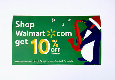 10% off Coupon Walmart Online orders only Expires after 7/31/18  1 per acct