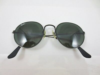 fa43ba5a1cbb ... coupon vintage ray ban sunglasses bl glass lenses tinted black frame  marked usa 0e80b 89a7d
