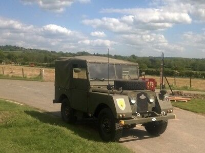 Classic 1952 Land Rover Series 1 80 inch Belgium Military Army Minerva