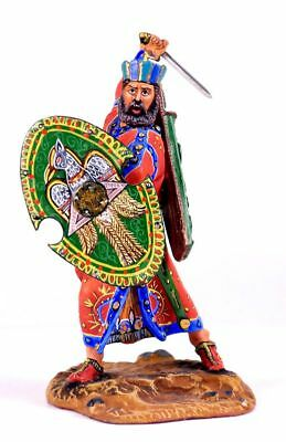 Tin soldier, Collectible, Persian noble warrior with sword, Heavy Infantry, 54mm