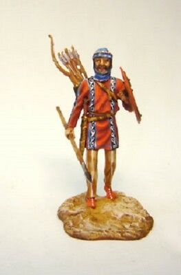 Tin soldier, Collectible, Persian spearman, Archer, Light Infantry, Wars, 54mm