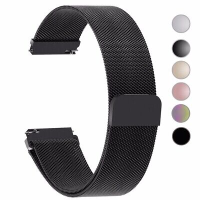 S3 Frontier / Classic  22mm/ 20mm Stainless Steel Watch Band Strap Milanese Loop