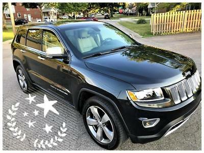 Grand Cherokee Limited 2015 Jeep Grand Cherokee Limited Rear Camera Navi Capable Leather 39K No Reserve