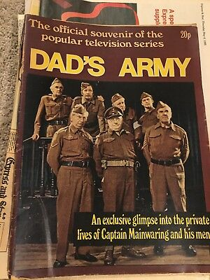 Dads Army Magazine And Other Paper Cuttings  V E Day Collectible