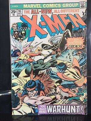 The X-MEN #95  1975 Classic Issue.  VG/FN Or Better