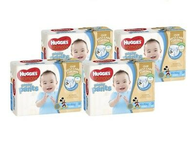 NEW Huggies Ultimate Nappy Pants Toddler Boy 31's X4