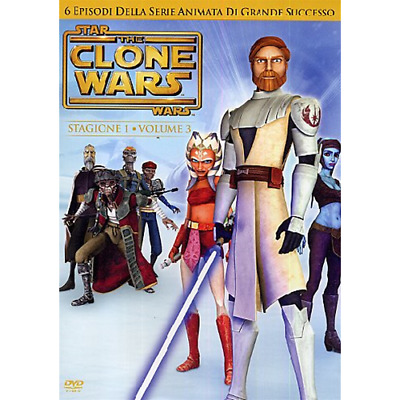 Star Wars - The Clone Wars - Stagione 01 #03  [Dvd Nuovo]