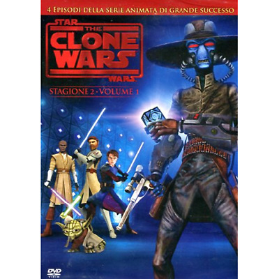 Star Wars - The Clone Wars - Stagione 02 #01  [Dvd Nuovo]