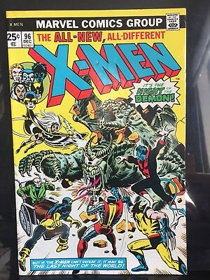 The X-MEN #96 1975 VG/FN Great Art See Pictures