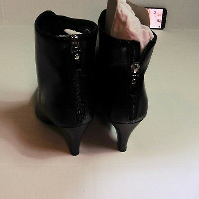 75c63f335a2 BRAND NEW : New Look Black Patent Cone Heel Pointed Ankle Us Size 9.5 /UK  Size 8