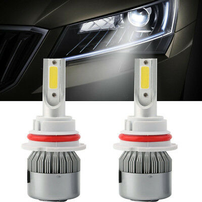 9004 HB1 LED Headlight Conversion Kit Bulbs 76W 7200LM Car Light Hi/Lo 6000K SPE