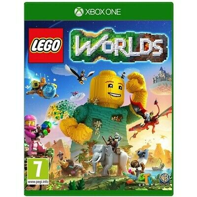Lego Worlds Xbox One Game | Xbox One  - New Game