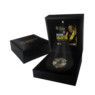 Dustin Martin Richmond Tigers 2017 Afl Brownlow Medal Boxed Official Led Light