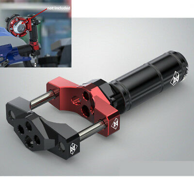 Aluminum Motorcycle Fork Handle Bar Bracket Extension Clamp 42mm LED Light Mount