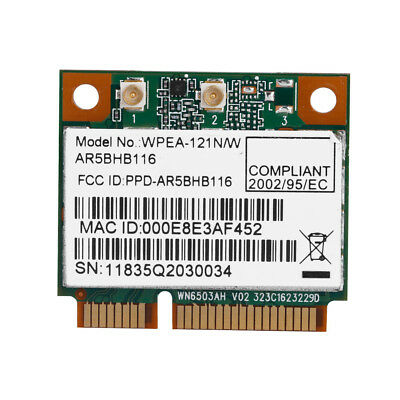 300Mbps 2.4G/5G Wireless WiFi Network Card PCI-E 802.11AN For Dell ASUS Acer