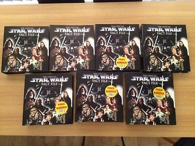 The Official Star Wars Fact Files Complete Set 1-140 by DeAgostini