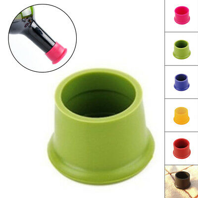 1/5pcs Silicone Bottle Caps Beer Cover Coke Soda Cola Lid Wine Saver Stopper
