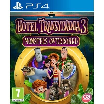 Hotel Transylvania 3 Monsters Overboard PS4 Game | Playstation 4 - New Game
