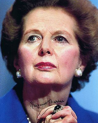 Margaret Thatcher - UK Prime Minister 1979-1990 - Signed Autograph REPRINT