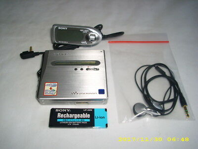 SONY MZ-NH1 Portable Minidisc Recorder MD Walkman MD-Player