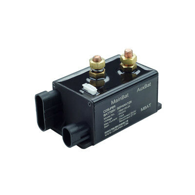 24V 100A Dual Battery Isolator Relay for RV Reliable Battery Management Solution