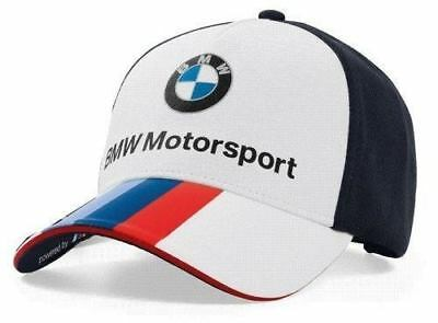 fc4f7a4f49a BMW New Genuine Motorsport Collection Unisex Fan Cap Baseball Hat  80162446452