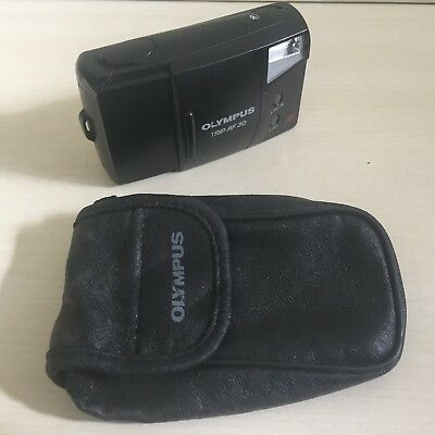 OLYMPUS TRIP AF 30 35mm POINT AND SHOOT COMPACT FILM CAMERA WITH CASE - LOMO