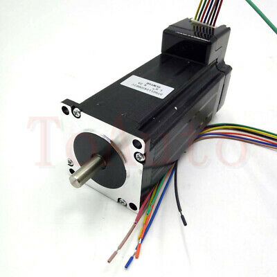 428oz-in Integration Stepper Motor Nema23 3NM L134.6mm Driver CNC Controller Kit