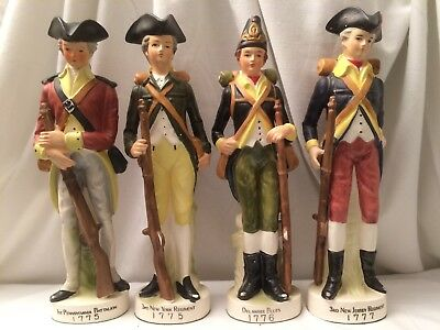 3rd New Jersey York Regiment 1777 Revolutionary Soldier Figurine Andrea By Sadek