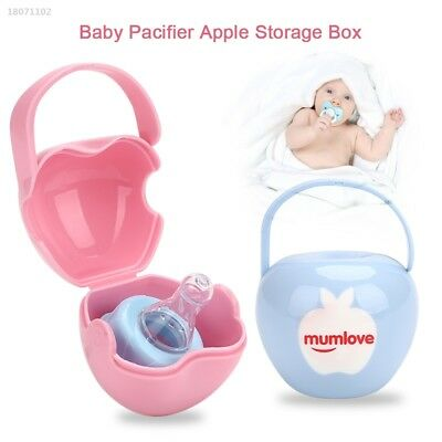Holder Apple Baby'S Pacifier Box Creative 2 Colors Cases Unisex Kids 162B