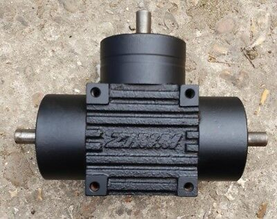 Zimm Tee 1 Input 2 Output 1:1 Bevel Gearbox Kgz-5-T-1 Free Uk Post Model Makers