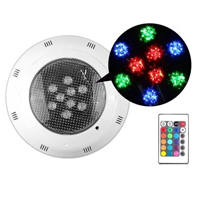 RGB 7 Color Underwater Swimming Pool Light Pond Fountains Lamp Par56 + Remote
